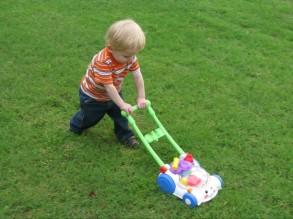 Caleb mow