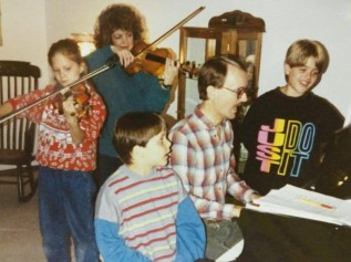 Singing and Violins