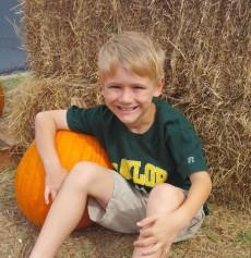 Caleb pumpkin